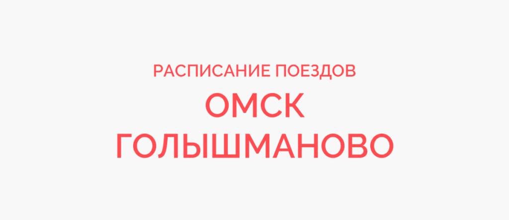 Поезд Омск - Голышманово