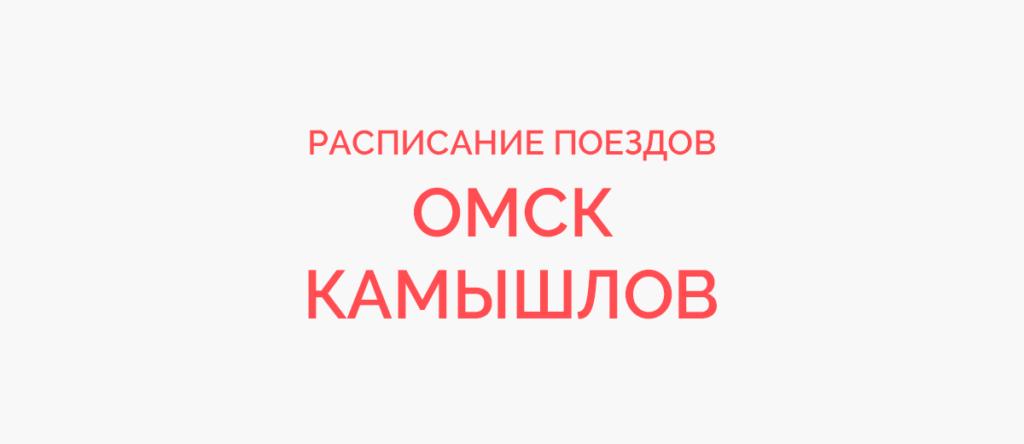 Поезд Омск - Камышлов