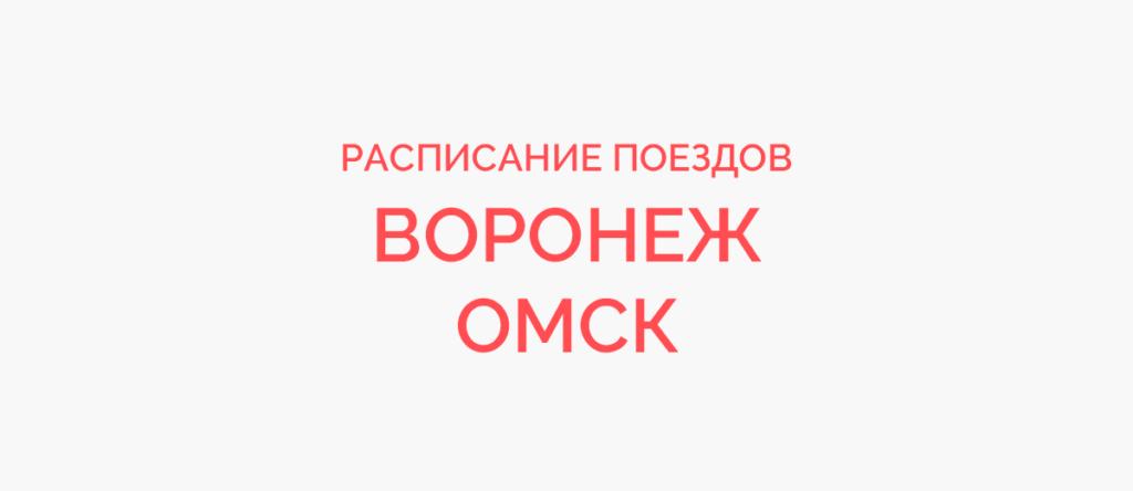 Поезд Воронеж - Омск